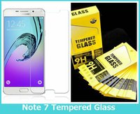 Wholesale NEW for SAMSUNG Galaxy Note Tempered Glass Screen Protector Ultra Thin mm D H Hardness Anti Scratch High Quality Protector Film