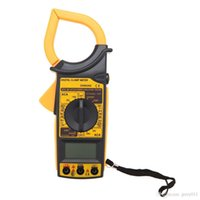 Wholesale DM6266 Digits Digital Multimeter Electronic Clamp Meter Ammeter Voltmeter Ohmmeter Insulation Tester with Data Hold