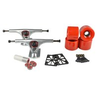 Wholesale Longboard mm Trucks mm Wheels Bearings Combo Set