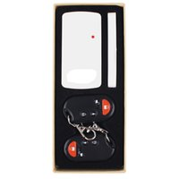 Wholesale Door and window Alarm Smart Home Magnetic Sensor Alarm Remote control System Pieces Control Keys Together