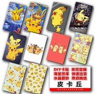 Wholesale 200 MM MM frosted cards card stickers Cartoon POKE printing IC card stickers hot sale E340