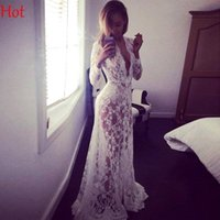 Wholesale Plus Summer Style Maternity Dresses Lace Maternity Photography Props Dress Sexy Fancy Pregnancy Pregnant Photo Props Maxi Dresses SV030015