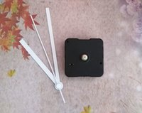 analog wall clocks - Sweep mm Shaft Wall Clock Mechanism with White Hands