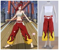 Wholesale FAIRY TAIL Erza Scarlet cosplay halloween cosumes