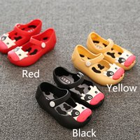 baby fish mouth - New Kids Shoes Girls Boys Baby Rubber Mini Melissa Sed Cute Fish Mouth Sandals Children Summer Sandals Rain Boot Casual Shoes GD S02