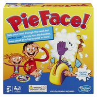 Wholesale 2016 Running Man Pie Face Game Pie Face Cream On Her Face Hit The Send Machine Paternity Toy Rocket Catapult Game Consoles