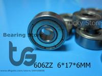 Wholesale 606ZZ bearing metal Sealed Miniature Mini Bearing Z ZZ mm chrome steel bearing