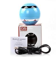ball seals - GS009 Mini Ball Portable Wireless Bluetooth Speakers Handfree MIC Support TF Card FM Radio Super Bass Stereo Subwoofer Speaker