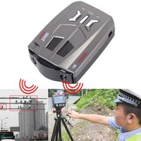 Wholesale New V9 Car Speed Laser GPS Degrees Voice Alert Electronic Dog Radar Detector High Quality