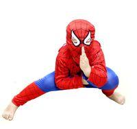 Wholesale Halloween Spider Man children baby clothing clothes KID Spider man suit BOY GRIL Cosplay