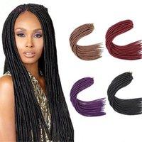 Wholesale 2016 Hot Sell Brand New Havana Mambo Twist Braiding Hair inch100g Soft Dread Lock Hair Extension