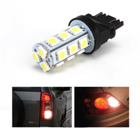 auto stops - 10Pcs White V SMD Reverse Back Up Tail Brake Stop Turn Auto Car LED Light Bulbs Lamp