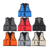Wholesale Outdoor Sport Clothing Fishing Vest Summer Fishing Vest Multi Pocket Fishing Director Photojournalist Clothes Colors