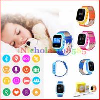 Q60 Smart Kid Safe Montre GPS Montre SOS Appel Location Finder Locator Pour Kid Enfant Anti Moniteur Perdu bébé VS cadeau Q50 U8 DZ09 GT08 A1