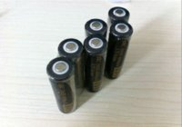 Wholesale Excellent Gold flat head V Rechargeable Battery for LED Flashlight Digital Camera Laser pen Free HK Post