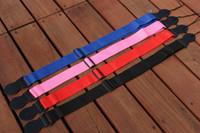 Wholesale newest Blue guitar strap