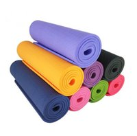 Wholesale Manufacturer provides straightly cm Eva yoga MATS environmental thickening high density fitness pure color yoga mat