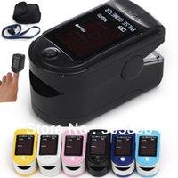 Wholesale Fingertip Pulse Rate Oximeter Spo2 Monitor per CMS50DL CE FDA Approved Fingertip Oximeter