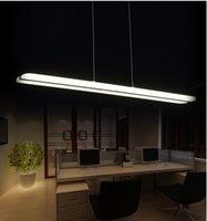 Wholesale Newest Design LED Chandelier White straight lights Acrylic Suspension Hanging Light Lustre LED Home Lighting Decoration lamp