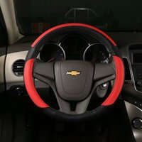 Wholesale hot sale high quality China Manufacture car steering wheel cover Genuine leather Car Steering Wheel Cover