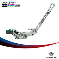 Wholesale PQY RACING Universal Jdm Hydraulic Horizontal Rally Drifting E brake Lever HandBrake SILVER PQY3633S