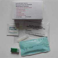 aids tests - New Arrival Anti HIV Test for Personal Home Use HIV AIDS Whole Blood Casssette Self HIV Test Kit