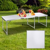Wholesale Aluminum Indoor Outdoor Picnic Party Dining Table Lightweight ft Folding Table