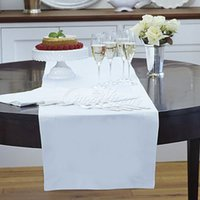 Wholesale Many Colors cm x cm Satin Table Runner for Wedding Party Banquet Event Decorations Supply Wholesales