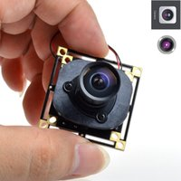 Wholesale HD TVL mm Lens CCTV Security Hidden Pinhole FPV PCB Board Camera IR Cut Degree Wide Angle Lens Mini FPV Security Cam