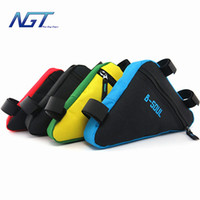 Wholesale Top End Waterproof NGT Mountain Bicycle Cycling Bike Bag Front Frame PVC Tube Triangle Bolso Bicicleta Velo Accessories