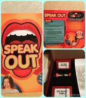 Wholesale Speak Out Game Best Selling Board Game Cards against for humanity Interesting Party Game Pie Face Of with GREAT quality