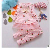 Wholesale New Autumn Fashion Cartoon Design Full Sleeve baby Clothing Set