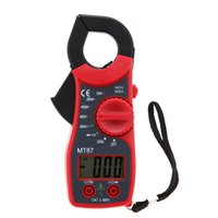Wholesale 3 Colors Digits LCD Digital Clamp Meter AC DC Voltmeter AC Ammeter Ohmmeter Diode Continuity Tester with Data Hold Multimeter