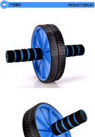 Wholesale Single AbdominalWheel Indoor Body Fitness Training Tool Mute Sports AB Wheel Roller Waist Reduction Exercise