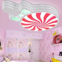 Wholesale 2016 LED Celling Children lamp Absorb Dome Dimmable Light High Power modern simple Flower Lantern for kids bedroom dinning room