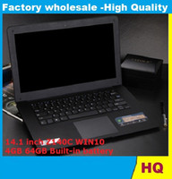 Wholesale new inch ultrabook slim laptop computer Itel Atom X5 Z8300 Z140C Quad core laptop GB GB WIFI Windows laptop notebook