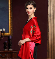 Wholesale Top Grade Gift Long Silk Scarf High Class Handwork Chinese Suzhou Embroidery Real Silk Shawl