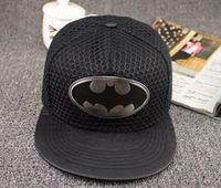 Wholesale Hot Fashion Summer Brand Bat chiropter Baseball Cap Hat For Men Women Casual Bone Hip Hop Snapback Caps Hats