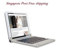 apple adjustable keyboard - Singapore Post Slim Aluminum Wireless Bluetooth Keyboard Case Cover for Apple iPad Mini