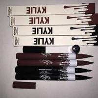 Wholesale Professional Kylie Eye Shadow Eyeliner Pencil Easy Black brown and long lasting Women Makeup Eyeliner Pen Waterproof Automatic KYLIE