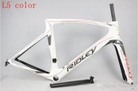 Wholesale 2016 Tour de France racing lotto Soudal team Ridley NOAH SL T1000 UD full carbon racing road frame bicycle complete bike bicicleta frameset