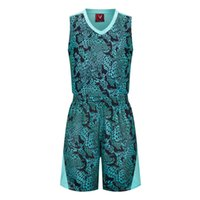 basketball team clothing - The new games basketball in the school team game camouflage clothing set