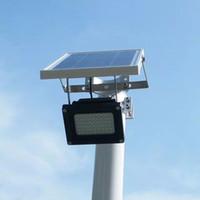 оптовые Супер яркий 6V солнечных батареях Группа светодиодный уличный свет Уличные светодиодные Солнечный свет Водонепроницаемый система освещения Датчик освещенности лампы Лампада