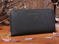 american grade - M104 wallet women high grade trendy leather original box fashion new arrival multi colors zipper quality promotional discount sale lady