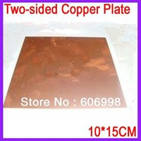 Wholesale CM MM Thickness Two sided Copper Plate Glass Fiber PCB Board