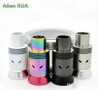 Cheap Replaceable Alien RDA Best 3.5ml Metal atomizer cigarette