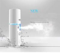 Wholesale Pritech portable nano facail mist sprayer face steamer device beauty facial humidifier cold spray machine hydrate your skin