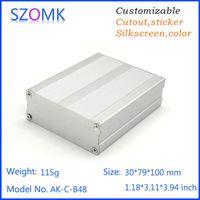 anodizing metal - anodizing aluminum electrical metal junction box szomk hot sales aluminum extrusion enclosure diy project box pc mm AK C B48