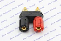 banana plugs gold dual - Copper Banana Plug Jack Amplifier Terminal Dual Binding Post k Gold plated Connector