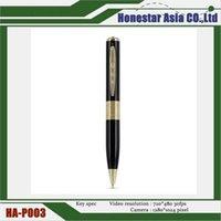best mini hd video camera - HD video pen cameras mini spy cameras pen silver gold spy cameras with best price